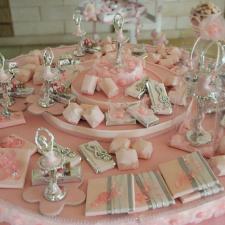 Newborn chocolate decoration ballerina theme