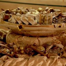 Newborn chocolate decoration Teddy Bear theme