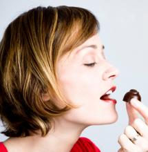 Chocolate and healthy teeth