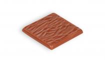 Milk chocolate with hazelnuts pieces
